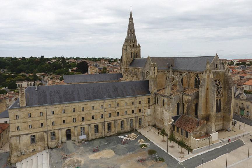 Eglise abbatiale de Saint-Maixent-L'Ecole